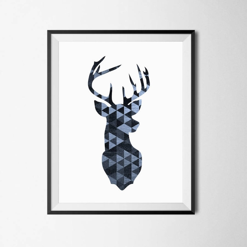 graphic about Printable Deer Head named Deer Intellect Print, Deer Printable, Deer Nursery, Printable Deer Thoughts, Deer Mind Prints, Deer Printable Artwork, Deer Mind Printable, Deer Prints
