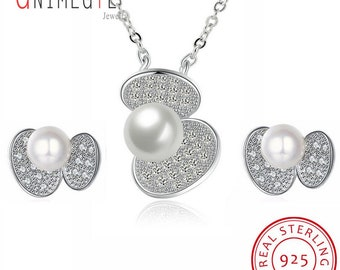 Pearl Jewelry Set For Women