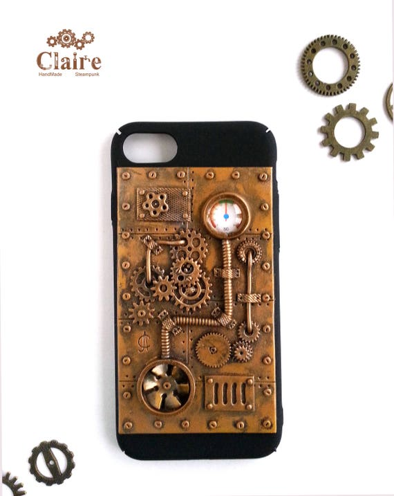 Steampunk Iphone 7 Case Iphone 8 Case Steampunk Phone Case Dieselpunk Iphone Case Steampunk Accessories For Iphone Gift For Men