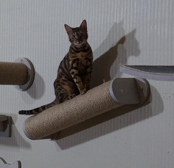 Cat scratching furniture Scratching post Cat scratcher wall mount Modern cat furniture wall Sisal pole Cat scratcher sisal Modern cat tree