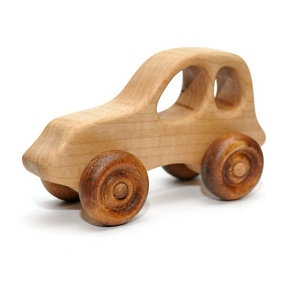 Baby Toy New Baby Gift Personalized Toy Car Wooden Jeep Etsy