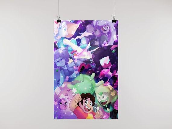 Steven Universe Jems poster print