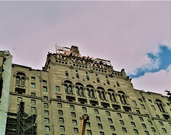 digital download - fairmont toronto 35mm film