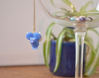 Flying Dierklei Mouse Necklace