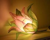 "Table Lamp: ""Rose Bud"""