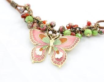 FlyAway Butterfly Necklace