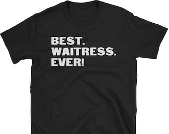 Waitress Shirt, Waitress Gifts, Waitress, Best. Waitress. Ever!, Gifts For Waitress, Waitress Tshirt, Funny Gift For Waitress, Waitress Gift