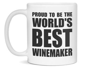 Winemaker Mug, Winemaker Gift, World's Best Winemaker, Winemaker, Winemaker Mugs, Winemaker Gifts, Funny Winemaker Mug, Funny Winemaker Gift