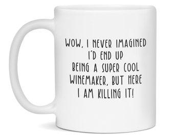 Winemaker Mug, Winemaker Gift, Perfect Gift For A Lucky Winemaker, Winemaker, Winemaker Mugs, Winemaker Gifts, Funny Winemaker Mug
