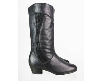 Boots Stiefel Fur Frauen Vintage Etsy De