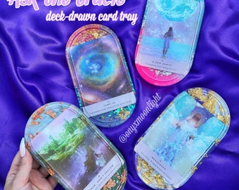 Oracle Card Tray | Ask the Oracle? Questions Answered, Beautiful Custom Soap Dish Decor!