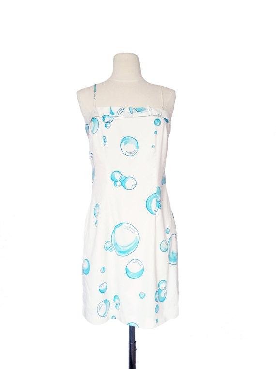 Cynthia Rowley Dress - 90s Cynthia Rowley Bubble D