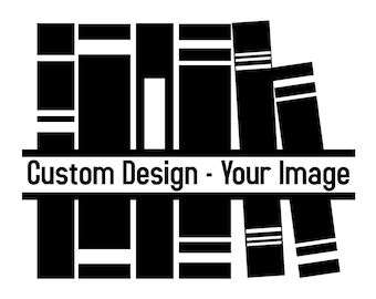 Custom Book Folding Pattern - Your Image or Design - Custom Designed Bookfolding Pattern - Any Style - Any Size - Great Gift!