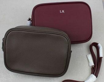 Luxury Leather Cross Body Camera Bag