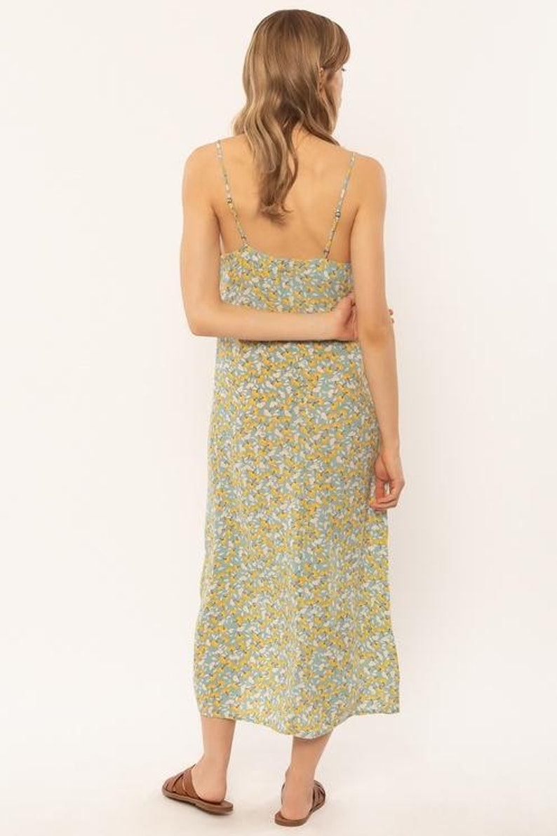Amuse Society Mai Slip woven dress