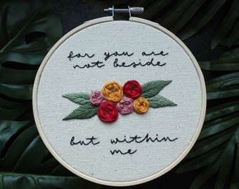 Loving Someone (the 1975) hand embroidery
