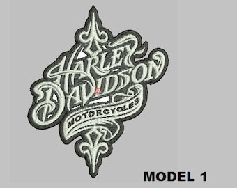 Genuine HARLEY DAVIDSON 4 inch HOG EMBROIDERED PATCH NEW LADY HARLEY
