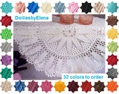 Crochet doily - crochet doilies - Home decor - White crochet doily - Handmade tablecloth