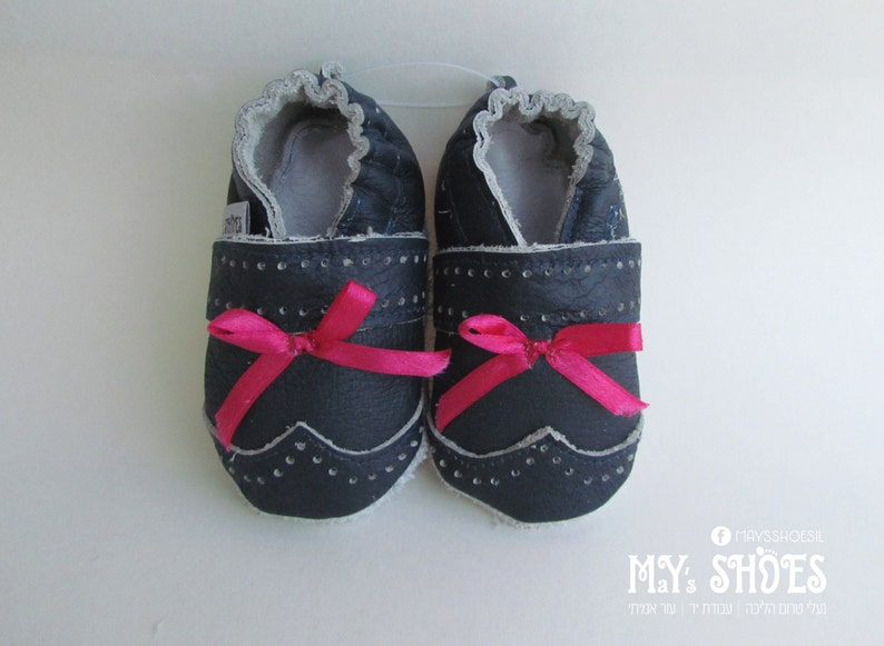 10ff3affb636 Leather Baby Shoes  Soft sole shoes Sweety First walking shoes