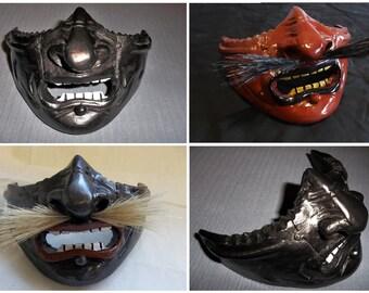 Samurai Mempo/Menpō Face Armour (Multiple Finishes Available)