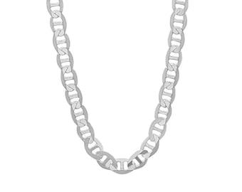 94936deb34f96f 925 Sterling Silver 4.5 mm Mariner Chain