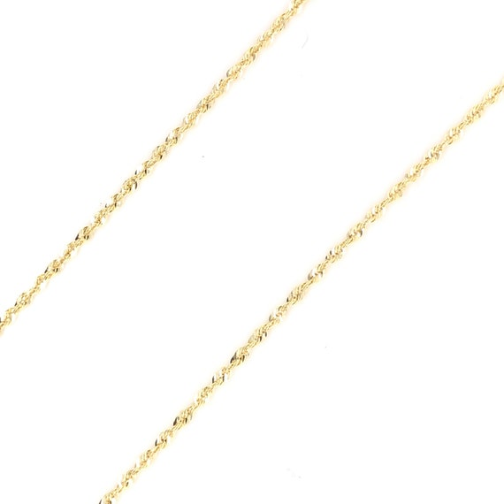 SINGAPORE CHAIN 14KT GOLD SPARKLE SINGAPORE CHAIN WITH LOBSTER LOCK 20 INCHES LONG