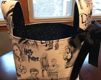 Harry Potter  Basket, Dumbledore, Hermione Granger, Ron Weasley, Storage and Organization Basket, Harry Potter Decor, Gift Basket, Storage,
