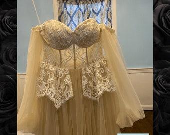 Wedding Dress Boho, Glam Boho wedding dress