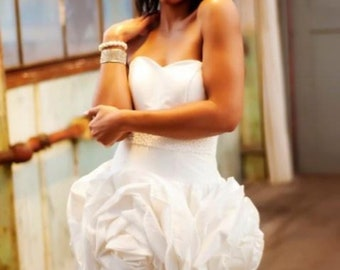 Elopement Wedding Dress Fiore by Dani Simone