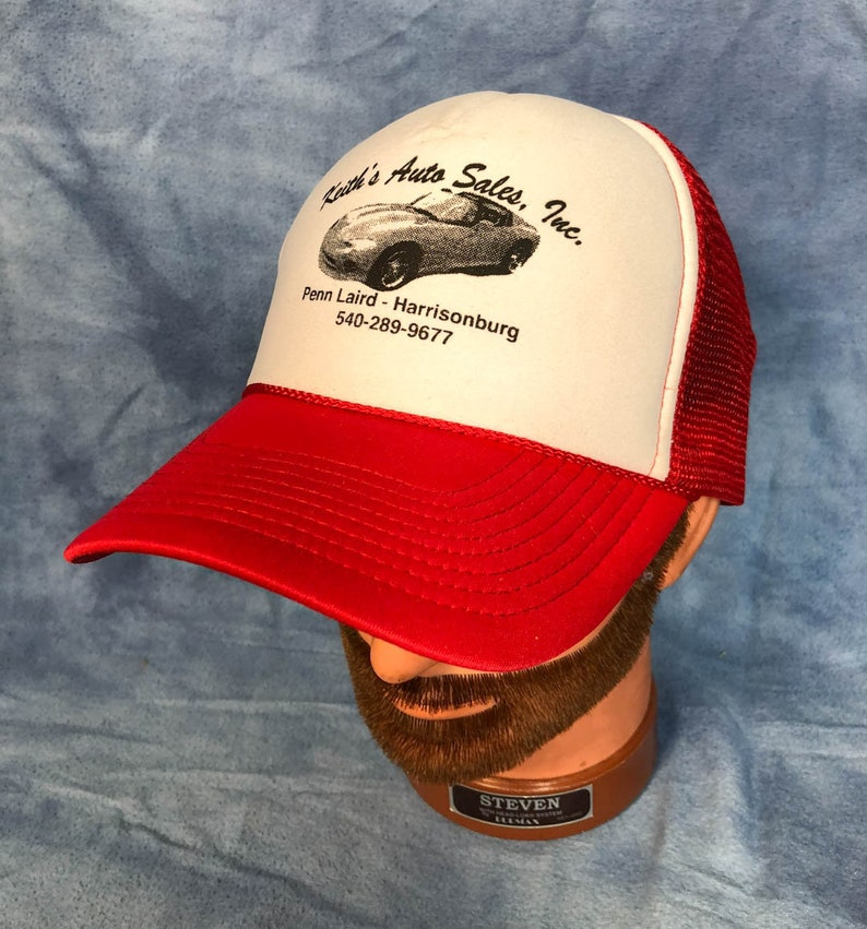 Keiths Auto Sales >> Vintage Keith S Auto Sales Trucker Hat Harrisonburg Virginia Local Business Baseball Cap Snapback