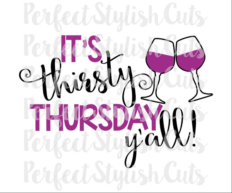Image result for thirsty thursday wine