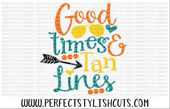 Good Times Svg Dxf Eps Png Files For Cutting Machines Cameo Etsy