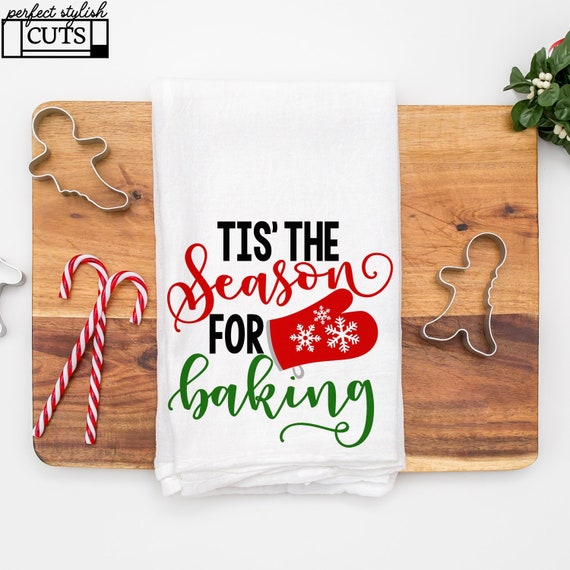 Pot Holder Svg: Tis' The Season For Baking Svg Christmas Cookies Svg