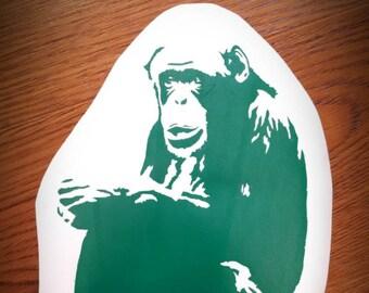 Chimpanzee Vinyl Decal