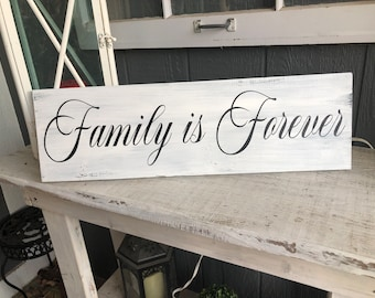 FAMILY MOMENTS FAMILY MEMORIES FAMILY TIES FOREVER   RUSTIC  EMBOSSED METAL SIGN