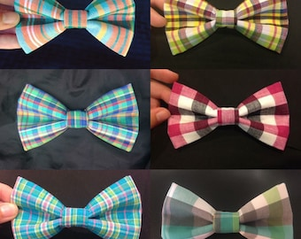 Plaid BOW TIES!