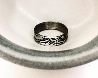 Mt. Hood Ring-Silver Mountain Ring