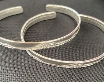 Mt. Hood Sterling Silver Small Bracelet cuff