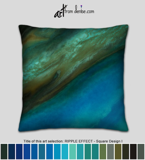 Amazing Gold Brown And Blue Throw Pillows For Bed Decor Big Couch Pillows Set Or Decorative Pillows For Outside Beatyapartments Chair Design Images Beatyapartmentscom