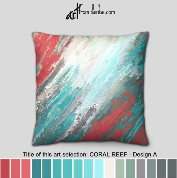 teal throw pillows aqua gray turquoise