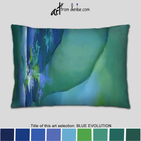 Fine Lavender Blue And Teal Lumbar Pillow Back Support Throw Pillows For Bed Decor Big Couch Pillows Set Or Outdoor Pillow Sofa Cushion Forskolin Free Trial Chair Design Images Forskolin Free Trialorg