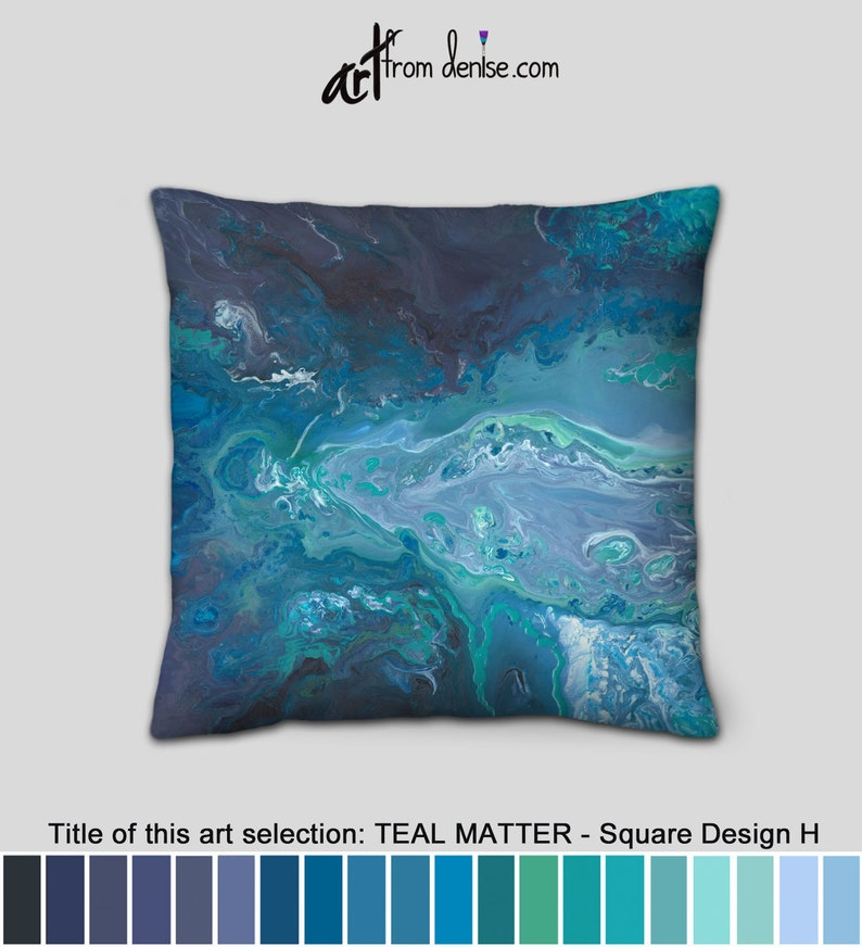 Surprising Gray Teal And Navy Throw Pillows For Bed Decor Large Couch Pillows Set Sofa Cushion Covers Or Big Green Blue Outdoor Pillows Pabps2019 Chair Design Images Pabps2019Com