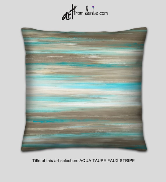 Marvelous Large Throw Pillows Teal Taupe Turquoise Blue Brown White Bed Decor Pillow Couch Pillow Set Or Lumbar Pillow Covers For Sofa Cushions Dailytribune Chair Design For Home Dailytribuneorg