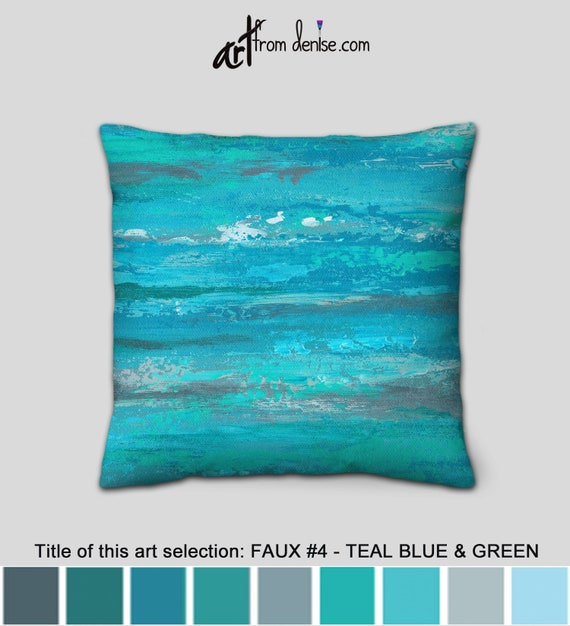Sensational Gray Turquoise And Teal Throw Pillows Blue And Green Decorative Pillows For Bed Decor Couch Pillows Set Or Outdoor Sofa Ibusinesslaw Wood Chair Design Ideas Ibusinesslaworg