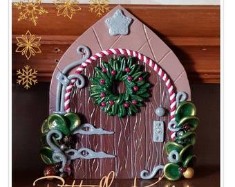 Magical, Christmas, Elf Doors, Fairy Door, christmas decor, christmas ornament, elf door decoration, elf door, christmas fairy door, decor