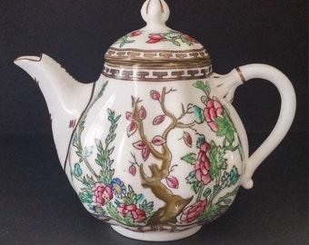Coalport Indian Tree Teapot