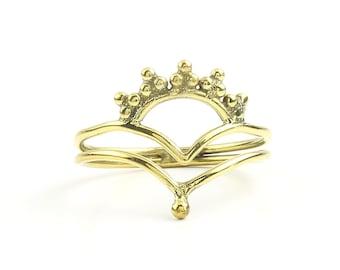 Gaya Ring, Brass Mandala Design, Geometric, Minimal Ring, Modern Ring, Festival Jewelry, Gypsy Jewelry, Boho