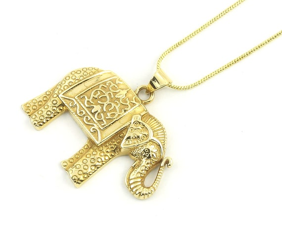 Large Elephant Necklace,Elephant, Yoga, Festival Jewelry, Boho, Bohemian, Gypsy, Hippie, Spiritual