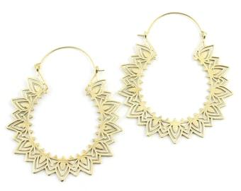 Extra Large Mandala Earrings, Sunburst, Large Festival Earrings, Statement Piece, Boho, Modern Earrings, Festival, Gypsy Earrings, Ethnic