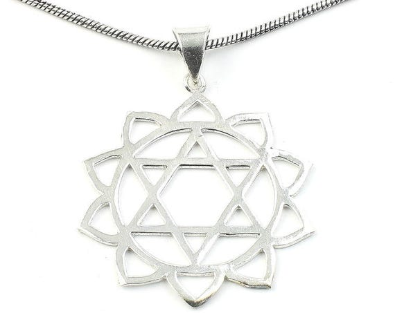 Hexagon Lotus Necklace, Sacred Geometry, Mandala, Star of David, Geometric, Yoga, Festival Jewelry, Boho, Bohemian, Gypsy, Hippie, Spiritual